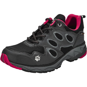 Jack Wolfskin Venture Fly Trail Running Shoes Texapore Low Women red fire